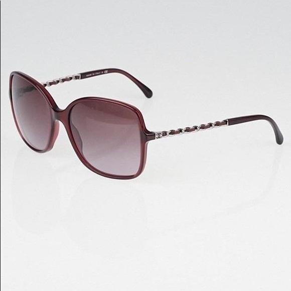 25b349dbdab2 CHANEL Accessories | Gradient Tint Chainlink Sunglasses 5210q | Poshmark